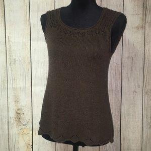 Ann Taylor Loft Sweater Tank Top